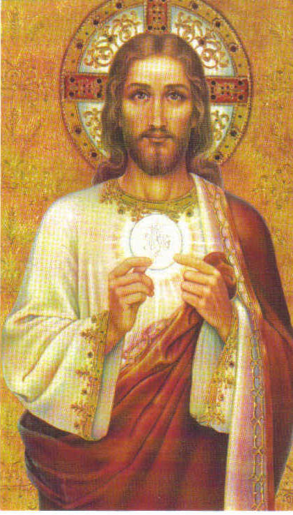 SACRED AND EUCHARISTIC HEART OF JESUS